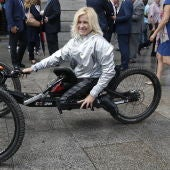 La atleta paralímpica Gema Hassen-Bey