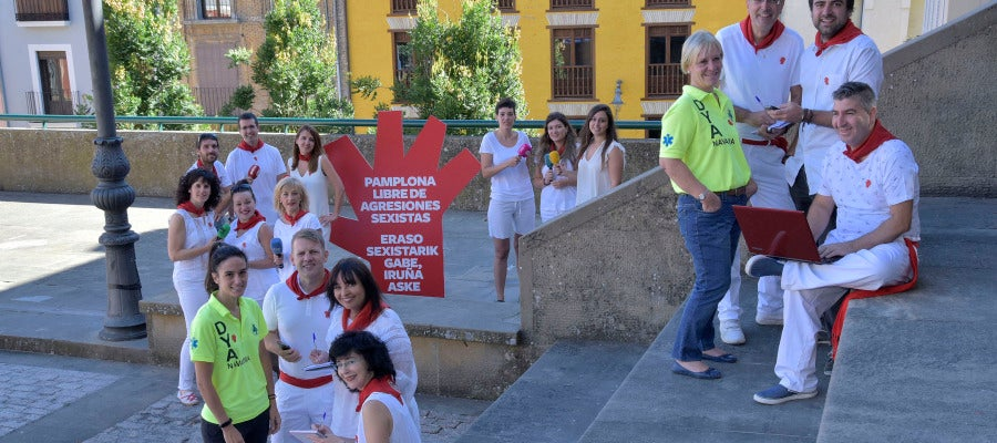 Pamplona libre de agresiones sexistas