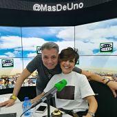 Sonsoles Ónega y Juan Ramón Lucas