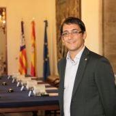 El conseller de trabajo, Iago Negueruela.