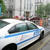 Imagen de un coche de Policía de Nueva York.