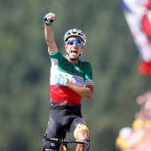 Fabio Aru se impone en la quinta etapa