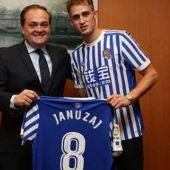 Januzaj, nuevo jugador de la Real Sociedad.