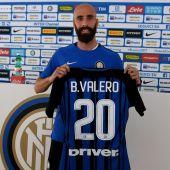 El nuevo jugador del Inter, Borja Valero.