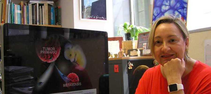 Ángela Nieto, investigadora del Instituto de Neurociencias de la UMH