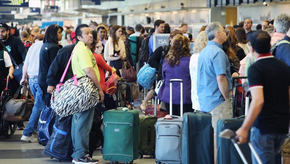 Aeropuertos y viajeros