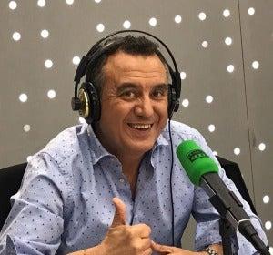 El presentador de El Tiempo en Antena 3, Roberto Brasero.
