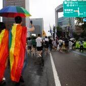 Seúl celebra su desfile del Orgullo Gay entre un gran despliegue policial