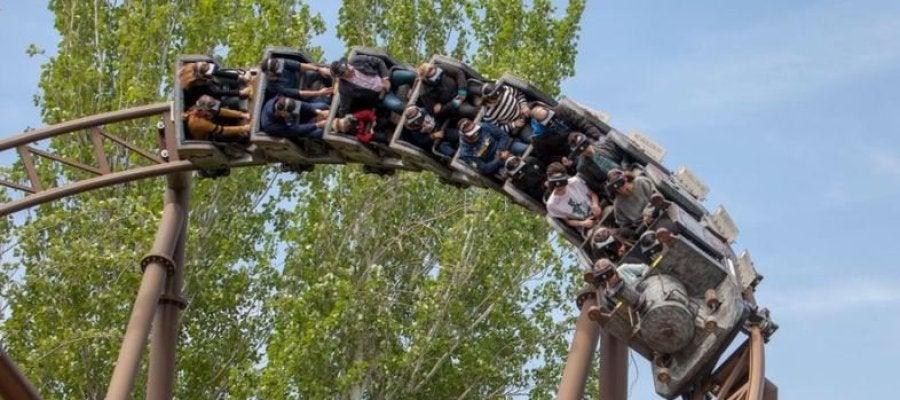 Tren de la Mina, Parque de Atracciones de Madrid