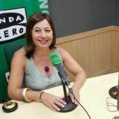 Francina Armengol hace balance de mitad de legislatura en Onda Cero Mallorca