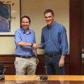 PSOE y Podemos se reúnen para concretar y orientar su colaboración parlamentaria