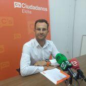 Juan Antonio Sempere, concejal de Ciudadanos por Elche