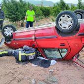 Accidente en Jumilla (Murcia)