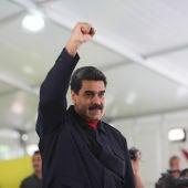 Nicolás Maduro en un acto de gobierno en el Palacio de Miraflores