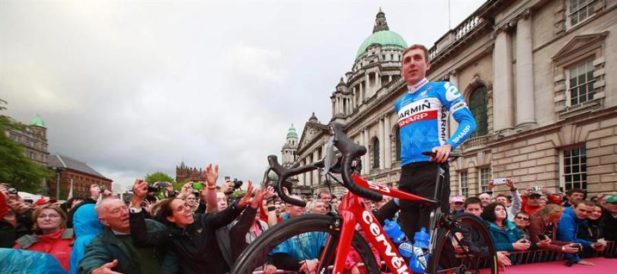 Dan Martin, corredor del Quick-Step Floors, en el Tour de Francia