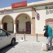 Bar de la estación de Pizarra (Málaga), desapareció la menor de 3 años