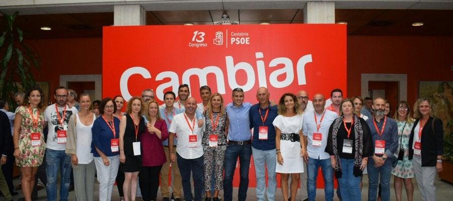 Nueva Ejecutiva del PSOE de Cantabria