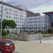 Exterior del hospital Arquitecto Marcide, en Ferrol