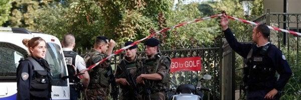 La Fiscalía de París había abierto una investigación por terrorismo sobre el atropello a los seis militares