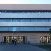 Entrada a la Audiencia Provincial de Castellón.