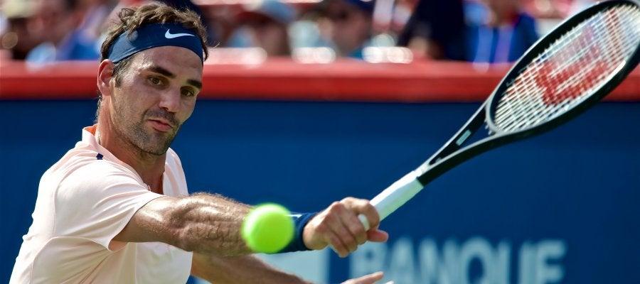 Federer durante el Marters 1000