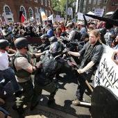 Enfrentamientos en Charlottesville