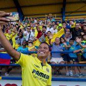 El delantero del Villarreal, Carlos Bacca.