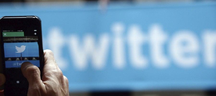 Red social Twitter, imagen de archivo