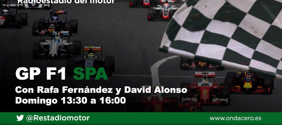 Gran Premio de Bélgica de Fórmula 1 en Radioestadio del motor