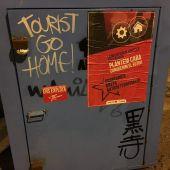 La turismofobia se ha manifestado en Palma de la mano de Arran