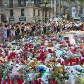 La sensación de seguridad vuelve a las calles de Barcelona una semana después del atentado