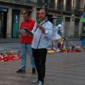 Carlos Alsina desde Las Ramblas