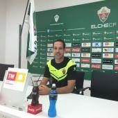 José Luis Acciari, entrenador del Elche CF Ilicitano.
