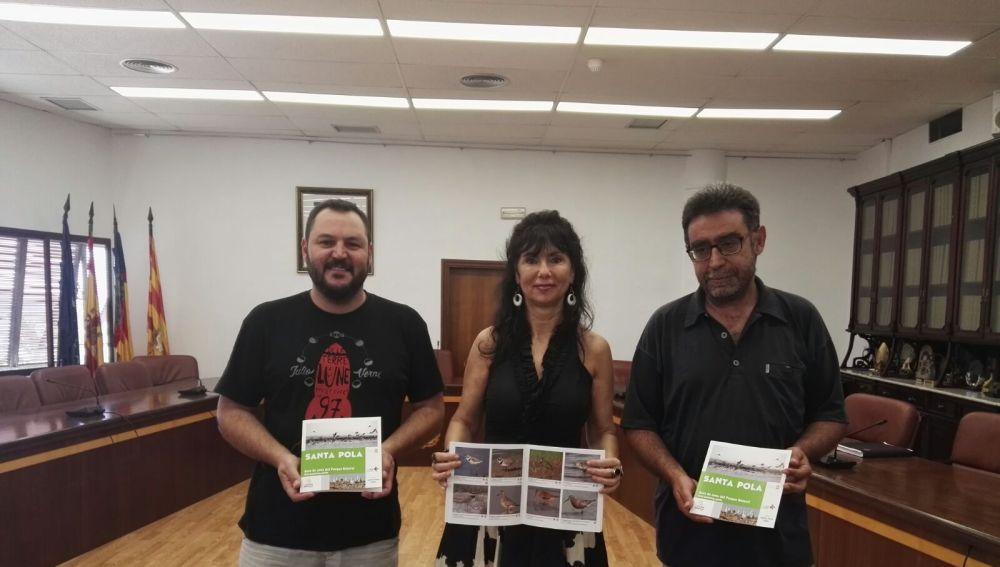 Presentación de la Guía de Aves del Parque Natural de las Salinas de Santa Pola