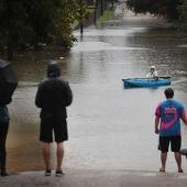 Inundaciones a causa de la tormenta tropical 'Harvey'