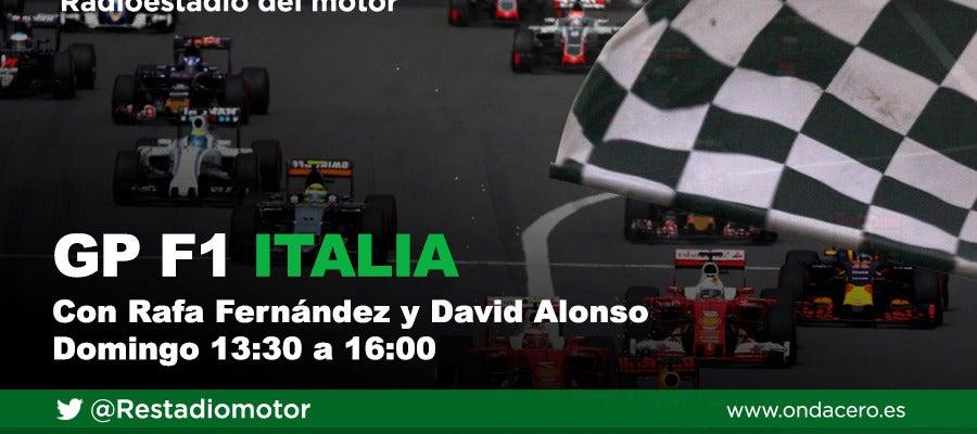 Gran Premio de F1 de Italia en Radioestadio del motor