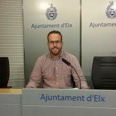 Héctor Díez, concejal de Promoción Económica y Empleo en el Ayuntamiento de Elche