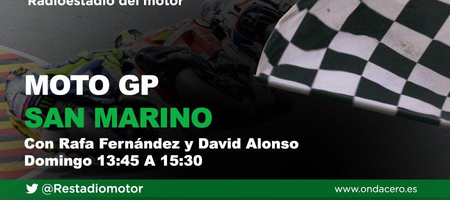 El GP de San Marino se corre en Radioestadio del motor