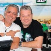 Alberto Chicote con Juan Ramón Lucas