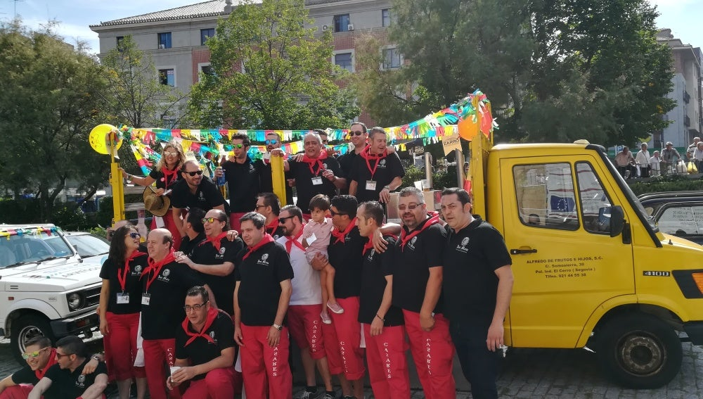 Fiesta Camareros Segovia
