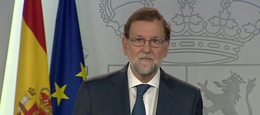 Rajoy anuncia los recursos ante el Constitucional y asegura: