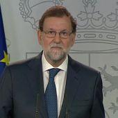 Mariano Rajoy ante los medios