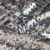 la parte francesa de San Martín por el huracán Irma