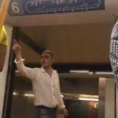 El autor de la agresión racista en el metro de Madrid