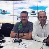 Javier Quero y Federico de Juan