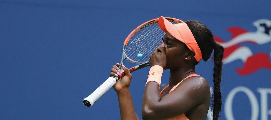 Stephens, emocionada tras ganar el US Open
