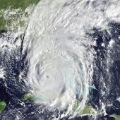 Imagen del huracán facilitada por la NASA