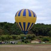 La Campa de La Magdalena acoge una nueva experiencia del Globo Cautivo de Onda Cero Cantabria