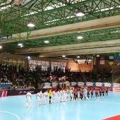El Segovia Futsal jugó contra el Zaragoza en el Pero Delgado