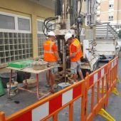 Los trabajos de prospección en el subsuelo han sido paralizados por carecer de permiso municipal